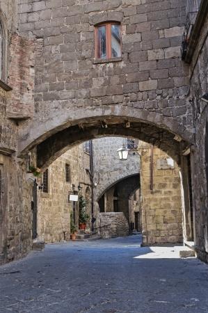 lazio: Alleyway  Viterbo  Lazio  Italy   Stock Photo