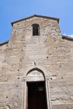 etrurian: Church of St. Maria Nuova. Viterbo. Lazio. Italy. Stock Photo