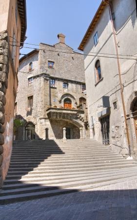 Alleyway. Viterbo. Lazio. Italy. photo