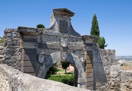 etrurian: Porta nuova  Tarquinia  Lazio  Italy