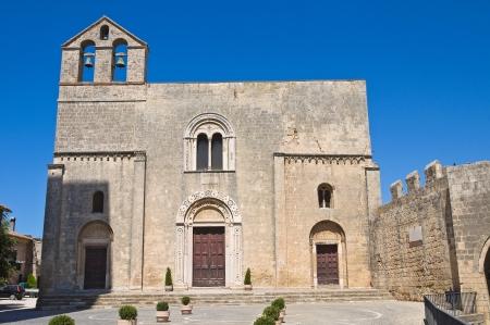 etrurian: St  Maria in Castello Church  Tarquinia  Lazio  Italy  Stock Photo