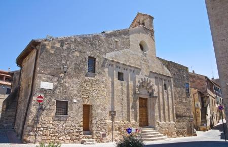 Church of St  Martino  Tarquinia  Lazio  Italy  photo