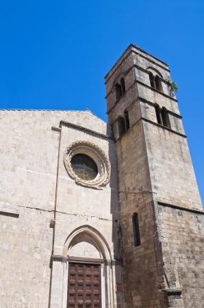 etrurian: Church of St  Pancrazio  Tarquinia  Lazio  Italy  Stock Photo