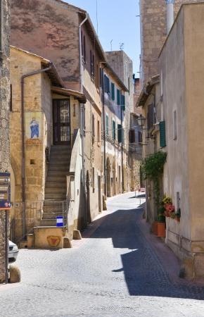lazio: Alleyway  Tarquinia  Lazio  Italy