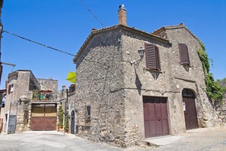 Alleyway  Tarquinia  Lazio  Italy  photo