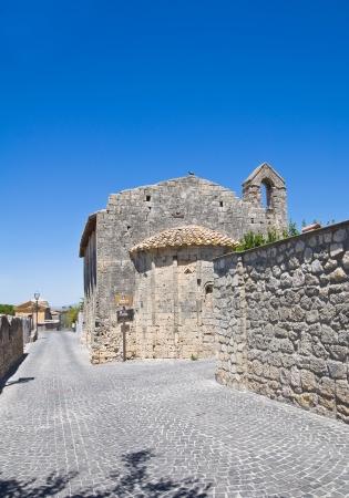Chiesa di St  Salvatore  Tarquinia  Lazio  Italy