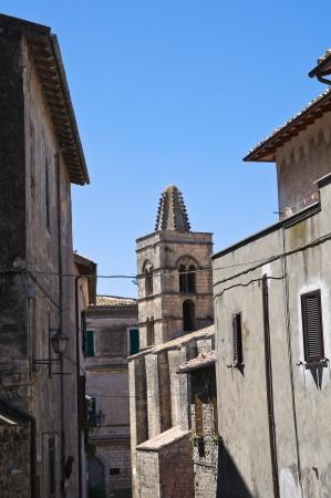 etrurian: Alleyway  Tarquinia  Lazio  Italy