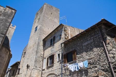 Alleyway  Tarquinia  Lazio  Italy Stock Photo - 15443182