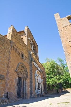 tuscania: St  Maria Maggiore Basilica  Tuscania  Lazio  Italy  Editorial