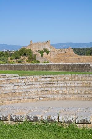 tuscania: Rivellino castle. Tuscania. Lazio. Italy. Stock Photo