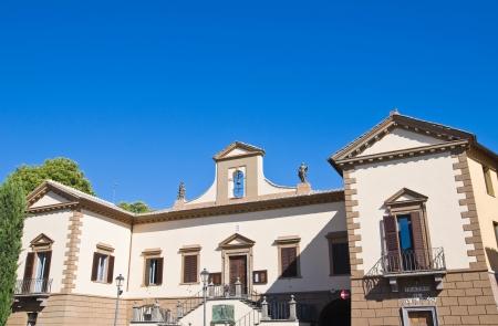 Town Hall Building. Tuscania. Lazio. Italy. Stock Photo - 15559846