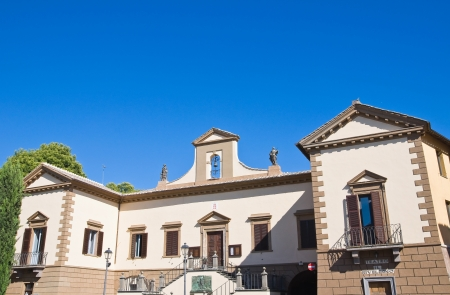 tuscania: Town Hall Building. Tuscania. Lazio. Italy. Stock Photo