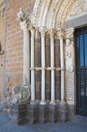 tuscania: St. Maria Maggiore basilica. Tuscania. Lazio. Italy.