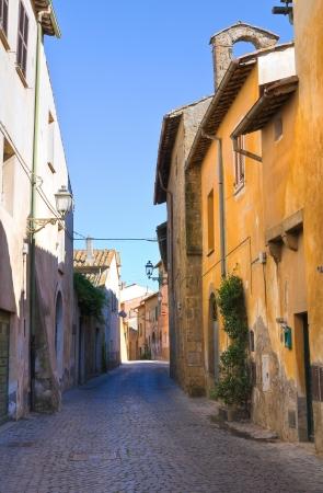 tuscania: Alleyway. Tuscania. Lazio. Italy.