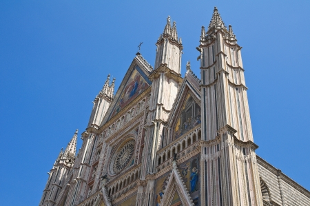 etruscan: Cathedral of Orvieto. Umbria. Italy.