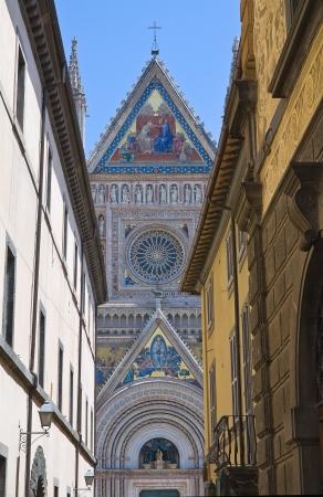 tuscia: Alleyway. Orvieto. Umbria. Italy.