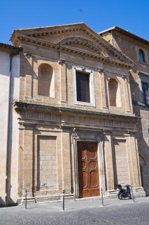 tuscia: Church of St. Lodovico. Orvieto. Umbria. Italy. Stock Photo