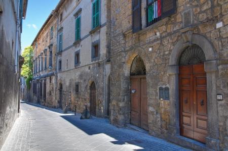 etruscan: Alleyway. Orvieto. Umbria. Italy.