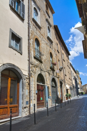 Alleyway. Orvieto. Umbria. Italy. Stock Photo - 15623166