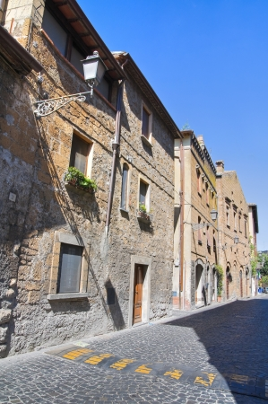 Alleyway. Orvieto. Umbria. Italy. Stock Photo - 15623159