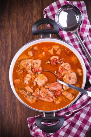 Fish soup.  Stock Photo - 15609550
