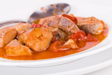 Fish soup.  Stock Photo - 15609428