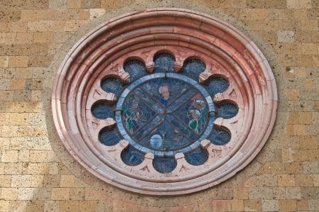etrurian: Church of St  Andrea  Orvieto  Umbria  Italy