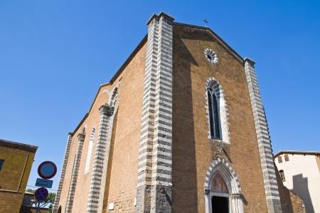 etrurian: Church of St  Domenico  Orvieto  Umbria  Italy
