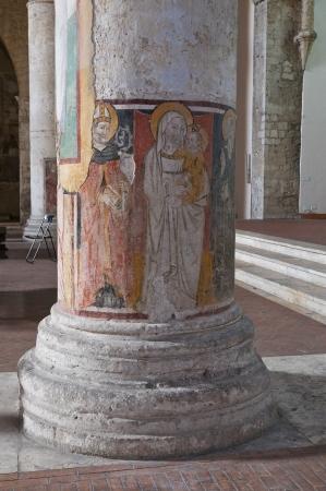 francesco: Church of St. Francesco. Narni. Umbria. Italy. Editorial
