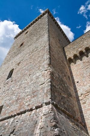bulwark: Albornoz fortress. Narni. Umbria. Italy.