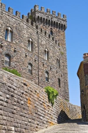 bulwark: Castle of Torre Alfina  Lazio  Italy