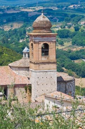 etrurian: Church of St. Agostino. Amelia. Umbria. Italy.