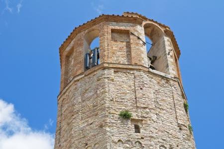 Civic tower. Amelia. Umbria. Italy.