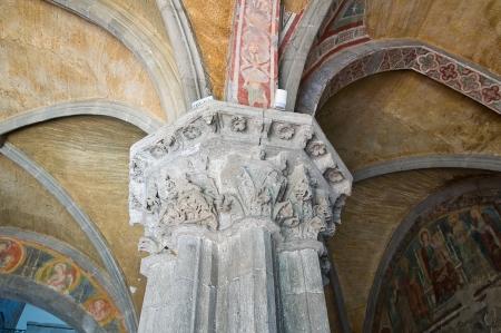 tuscia: Basilica of St. Flaviano. Montefiascone. Lazio. Italy.