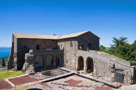 tuscia: Rocca dei Papi. Montefiascone. Lazio. Italy.