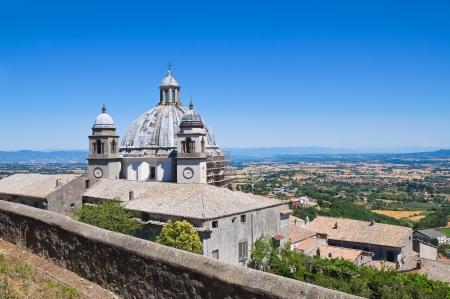 etrurian: Cathedral of St. Margherita. Montefiascone. Lazio. Italy.