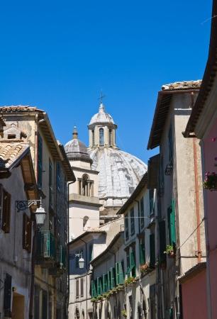 tuscia: Alleyway. Montefiascone. Lazio. Italy.