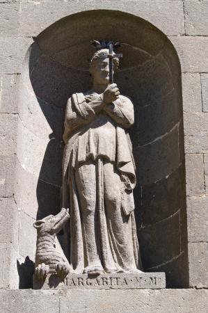 etrurian: Cathedral of St. Margherita. Montefiascone. Lazio. Italy. Stock Photo
