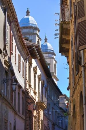 etrurian: Alleyway. Montefiascone. Lazio. Italy.