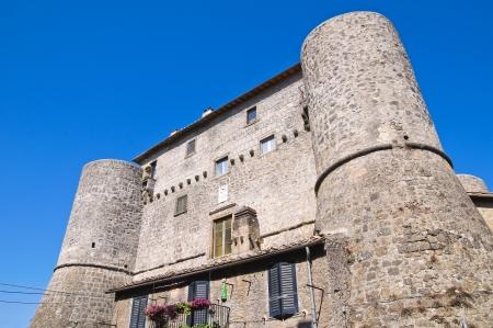 etrurian: Anguillara castle  Ronciglione  Lazio  Italy