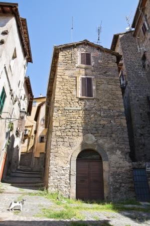 lazio: Alleyway  Ronciglione  Lazio  Italy