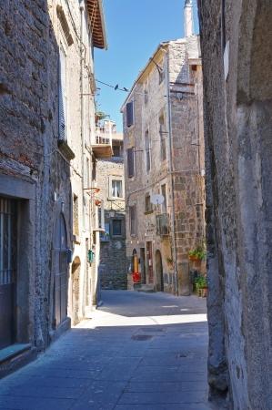 etruscan: Alleyway. Bagnaia. Lazio. Italy.