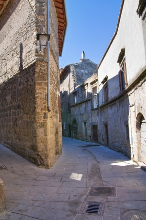 lazio: Alleyway. Bagnaia. Lazio. Italy.