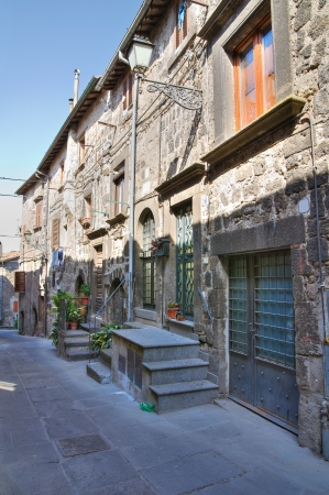 Alleyway. Vitorchiano. Lazio. Italy. Stock Photo - 15992563