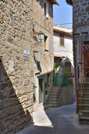 Alleyway. Vitorchiano. Lazio. Italy. Stock Photo - 15991944
