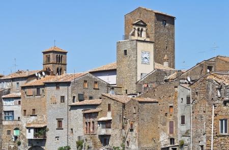 vitorchiano: Panoramic view of Vitorchiano. Lazio. Italy.