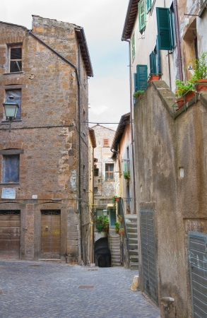 tuscia: Alleyway  Vetralla  Lazio  Italy