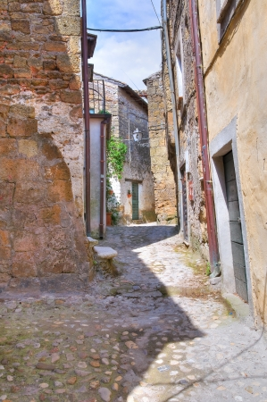 Alleyway. Calcata. Lazio. Italy. Stock Photo - 15991636