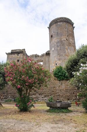 tuscia: Castle of Borgia. Nepi. Lazio. Italy.