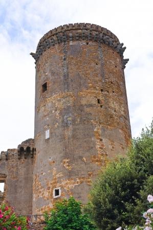 etruscan: Castle of Borgia. Nepi. Lazio. Italy.